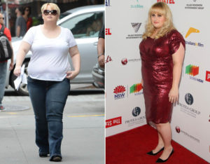 Rebel Wilson before after